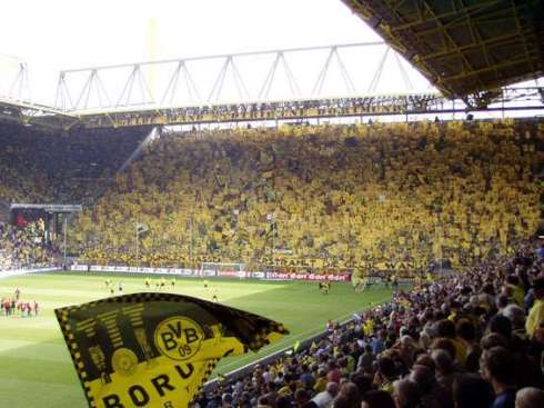 *Enter generic photo of the Westfalenstadion Southern Terrace* - Every blog post in 2013 needs one, right?